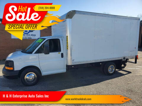 2014 GMC Savana Cutaway for sale at H & H Enterprise Auto Sales Inc in Charlotte NC