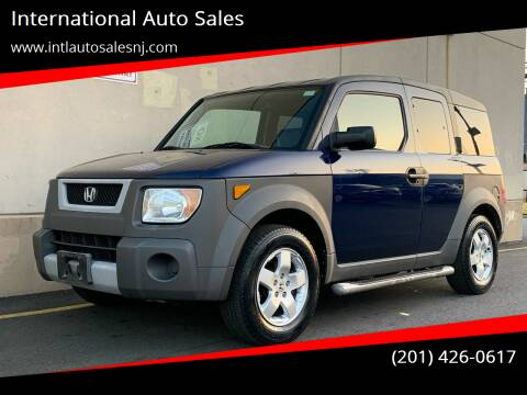 2003 Honda Element for sale at International Auto Sales in Hasbrouck Heights NJ