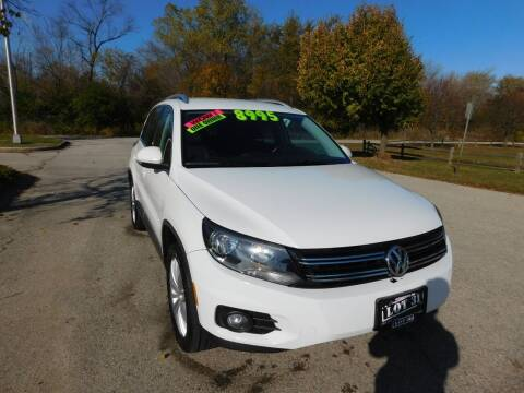 2012 Volkswagen Tiguan for sale at Lot 31 Auto Sales in Kenosha WI