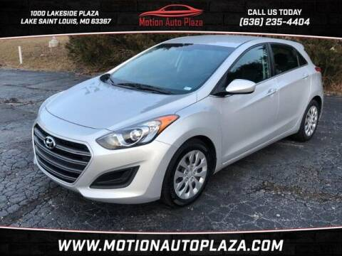 2017 Hyundai Elantra GT for sale at Motion Auto Plaza in Lakeside MO