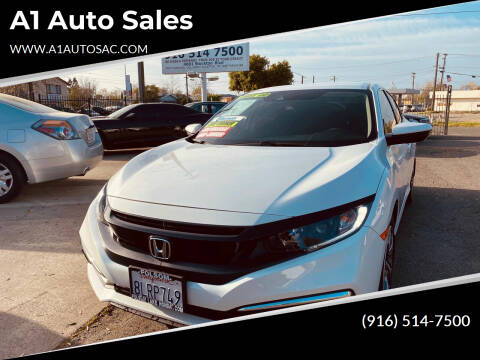 2019 Honda Civic for sale at A1 Auto Sales in Sacramento CA