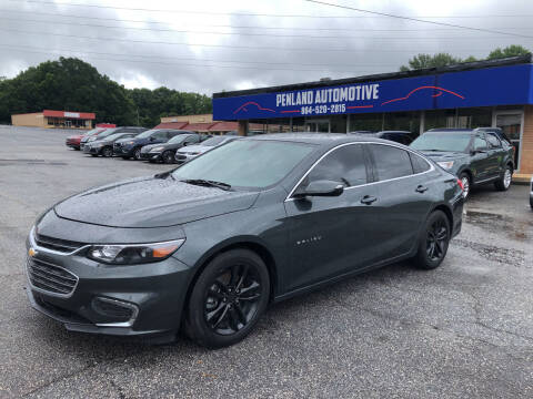 2018 Chevrolet Malibu for sale at Penland Automotive Group in Laurens SC