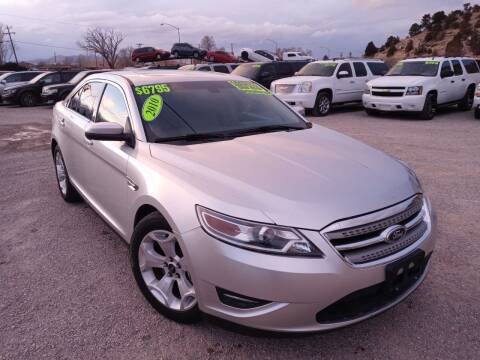 2010 Ford Taurus for sale at Canyon View Auto Sales in Cedar City UT
