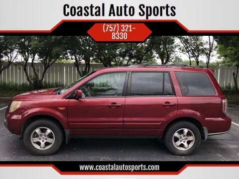 2006 Honda Pilot for sale at Coastal Auto Sports in Chesapeake VA