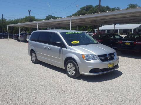 2012 Dodge Grand Caravan for sale at Bostick's Auto & Truck Sales in Brownwood TX