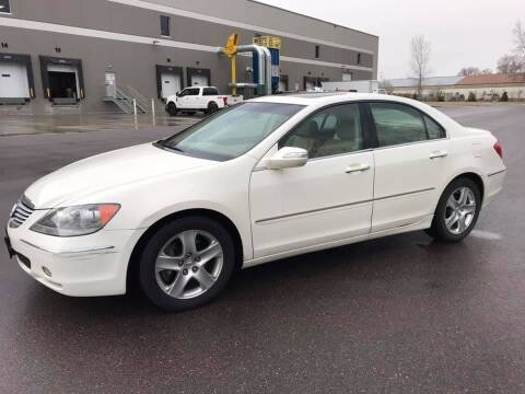 2007 Acura RL for sale at Angies Auto Sales LLC in Newport MN