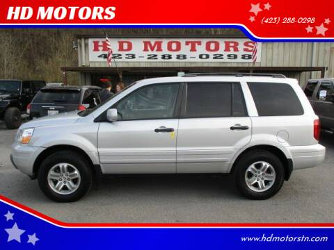 2005 Honda Pilot for sale at HD MOTORS in Kingsport TN