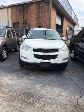 2010 Chevrolet Traverse for sale at LAKE CITY AUTO SALES - Jonesboro in Morrow GA