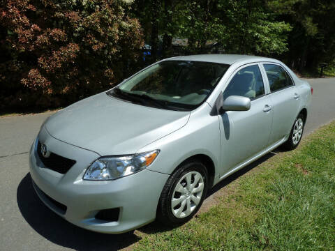 2010 Toyota Corolla for sale at Templar Auto Group in Matthews NC
