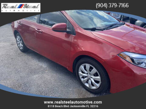 2014 Chevrolet Cruze for sale at Real Steel Automotive in Jacksonville FL