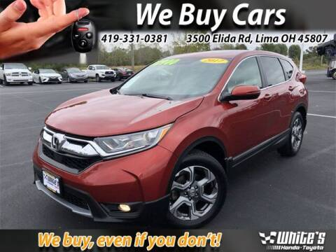 2017 Honda CR-V for sale at White's Honda Toyota of Lima in Lima OH