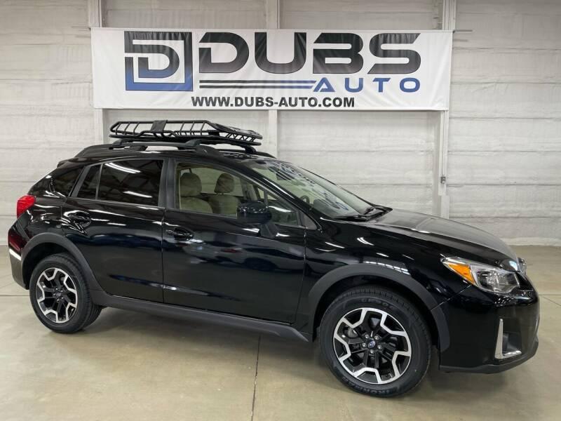 2017 Subaru Crosstrek for sale at DUBS AUTO LLC in Clearfield UT
