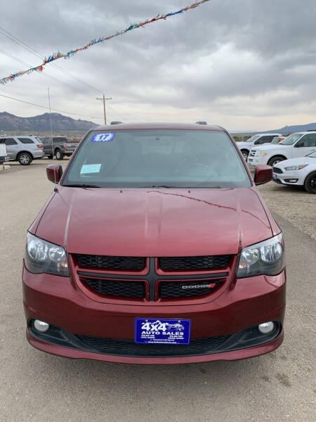 2017 Dodge Grand Caravan for sale at 4X4 Auto in Cortez CO