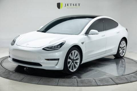 2019 Tesla Model 3 for sale at Jetset Automotive - Electric Cars in Cedar Rapids IA