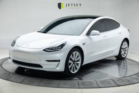 2019 Tesla Model 3 for sale at Jetset Automotive - Electric Cars in Cedar Rapids IA