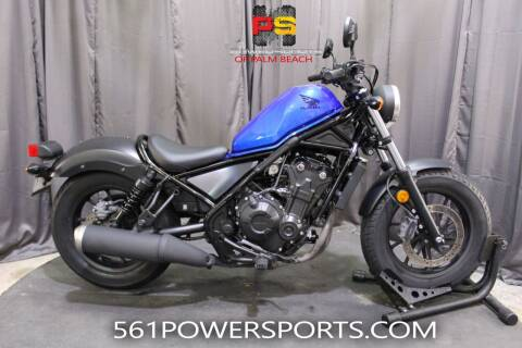 2018 Honda Rebel 500 for sale at Powersports of Palm Beach in Hollywood FL