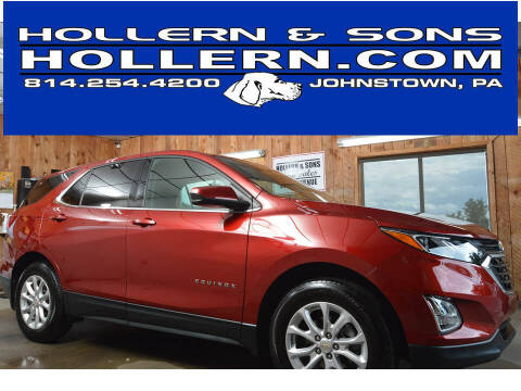2019 Chevrolet Equinox for sale at Hollern & Sons Auto Sales in Johnstown PA