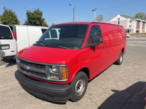 2002 Chevrolet Express Cargo for sale at Connect Truck and Van Center in Indianapolis IN
