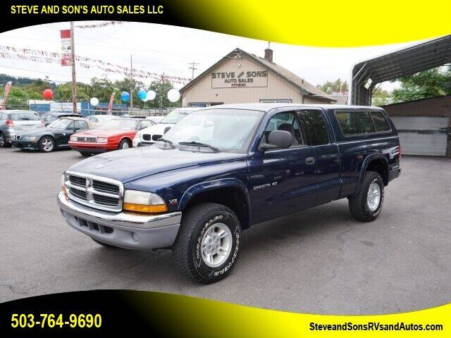2000 Dodge Dakota for sale at Steve & Sons Auto Sales in Happy Valley OR