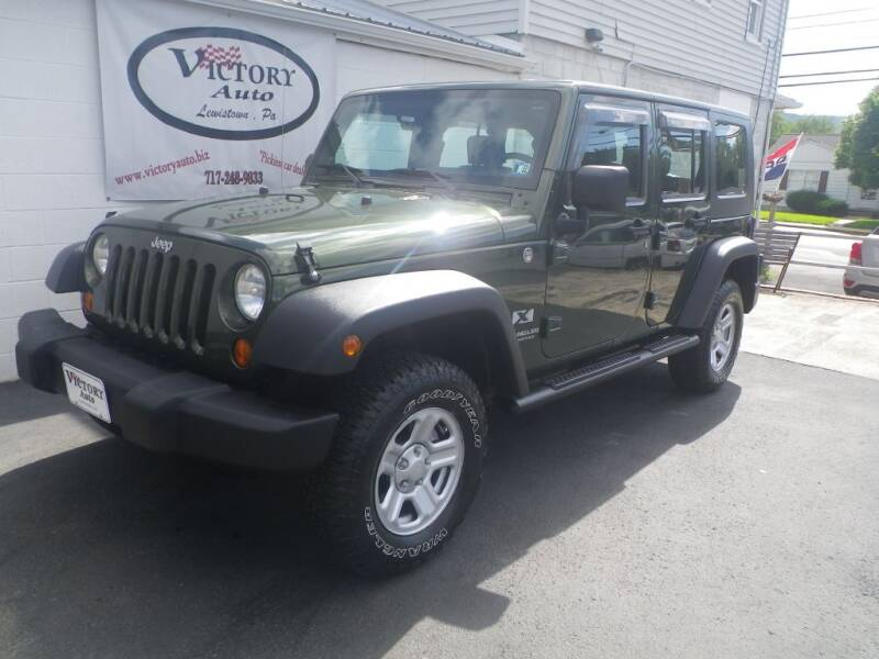 2007 Jeep Wrangler Unlimited for sale at VICTORY AUTO in Lewistown PA