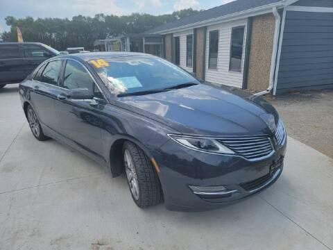 2014 Lincoln MKZ Hybrid for sale at Bowar & Son Auto LLC in Janesville WI