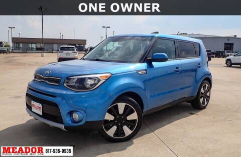 2019 Kia Soul for sale at Meador Dodge Chrysler Jeep RAM in Fort Worth TX
