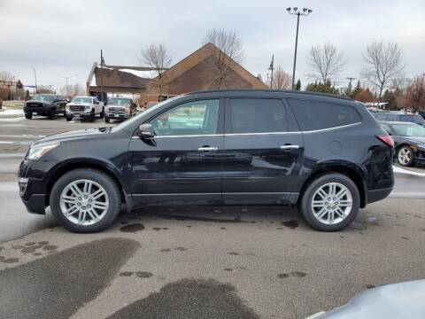 2015 Chevrolet Traverse for sale at ROSSTEN AUTO SALES in Grand Forks ND