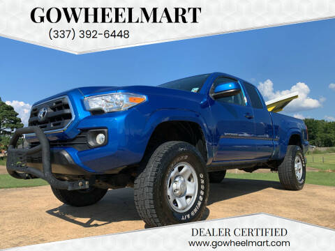 2017 Toyota Tacoma for sale at GOWHEELMART in Leesville LA