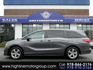 2018 Honda Odyssey for sale at Highline Group Motorsports in Lowell MA