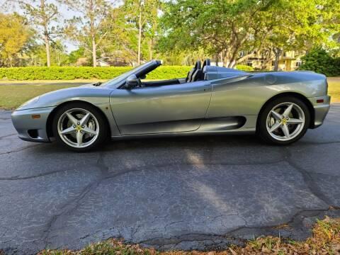 2002 Ferrari 360 Spider for sale at Monaco Motor Group in Orlando FL