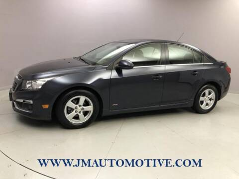 2015 Chevrolet Cruze for sale at J & M Automotive in Naugatuck CT