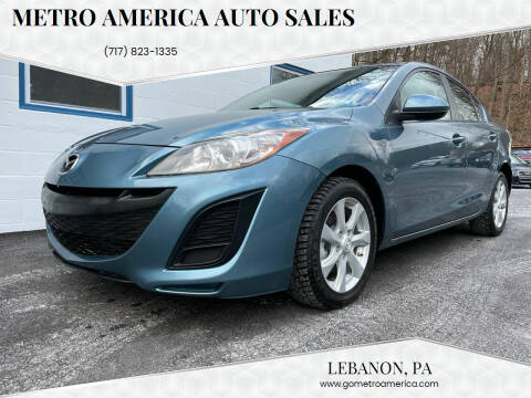 2011 Mazda MAZDA3 for sale at METRO AMERICA AUTO SALES of Lebanon in Lebanon PA