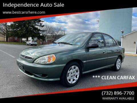 2002 Kia Rio for sale at Independence Auto Sale in Bordentown NJ