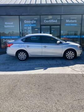 2017 Nissan Sentra for sale at Georgia Certified Motors in Stockbridge GA