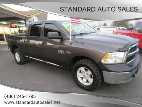 2018 RAM Ram Pickup 1500 for sale at Standard Auto Sales in Billings MT