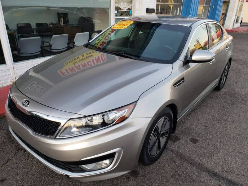 2013 Kia Optima Hybrid for sale at AutoMotion Sales in Franklin OH