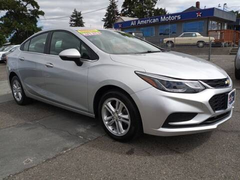 2018 Chevrolet Cruze for sale at All American Motors in Tacoma WA