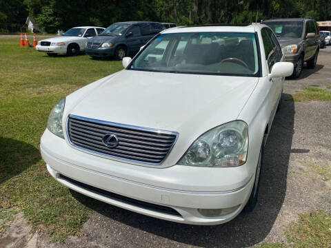 2002 Lexus LS 430 for sale at Carlyle Kelly in Jacksonville FL