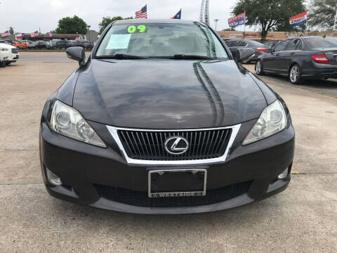 2009 Lexus IS 250 for sale at SOUTHWAY MOTORS in Houston TX