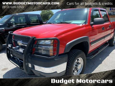 2004 Chevrolet Silverado 2500HD for sale at Budget Motorcars in Tampa FL