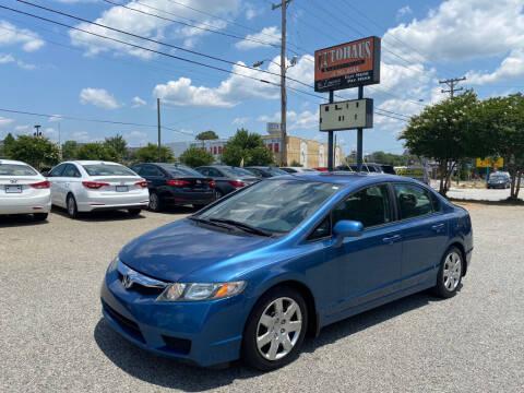 2010 Honda Civic for sale at Autohaus of Greensboro in Greensboro NC