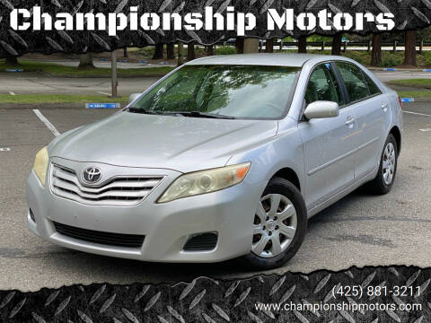 2010 Toyota Camry for sale at Championship Motors in Redmond WA