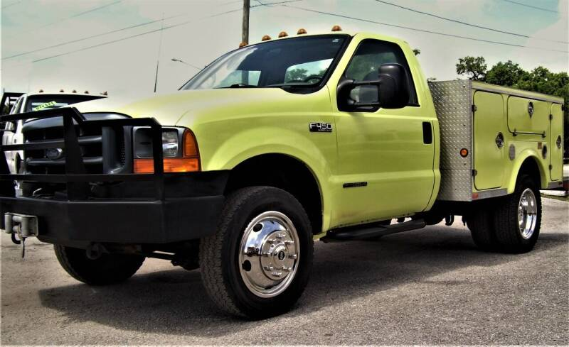 1999 Ford F-450 Super Duty for sale at buzzell Truck & Equipment in Orlando FL