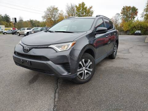 2017 Toyota RAV4 for sale at Cruisin' Auto Sales in Madison IN