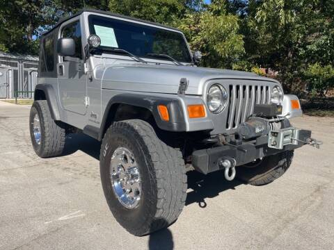 2005 Jeep Wrangler for sale at Thornhill Motor Company in Hudson Oaks, TX