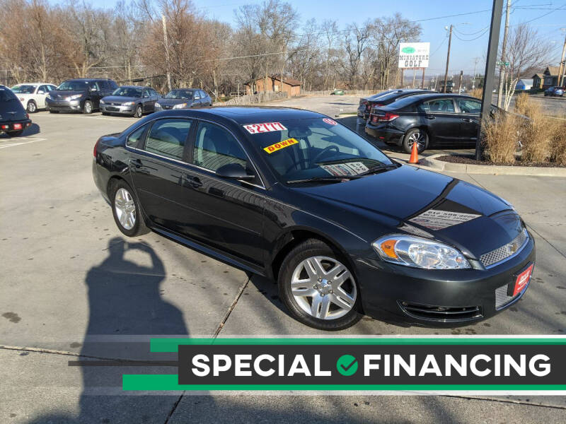 2015 Chevrolet Impala Limited for sale at AmericAuto in Des Moines IA