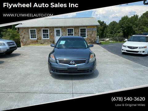 2009 Nissan Altima for sale at Flywheel Auto Sales Inc in Woodstock GA