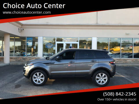 2017 Land Rover Range Rover Evoque for sale at Choice Auto Center in Shrewsbury MA
