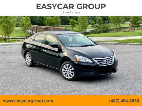 2014 Nissan Sentra for sale at EASYCAR GROUP in Orlando FL