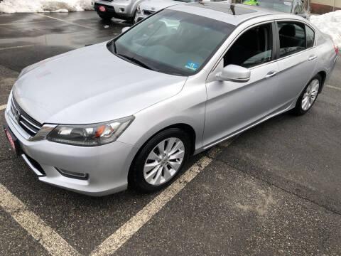 2013 Honda Accord for sale at STATE AUTO SALES in Lodi NJ